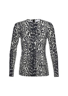 Burberry Panaro Leopard top