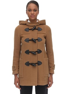 Burberry Panel Wool Blend Coat