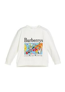 Burberry Patchwork Graphic Logo Tee