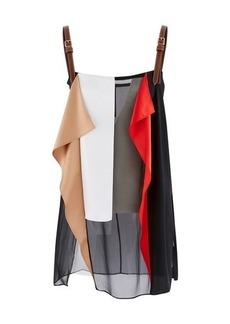 Burberry Patchwork silk top