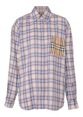 Burberry Payton Plaid Check Pocket Shirt