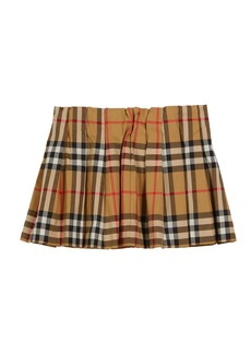 Burberry Pearl Check Pleated Skirt  Size 6M-2