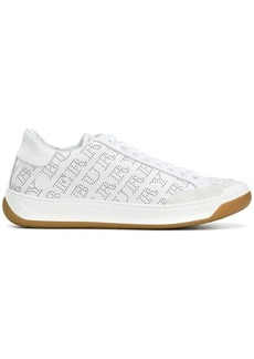 Burberry perforated logo sneakers