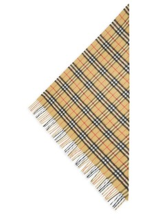 Burberry Plaid Cashmere Bandana