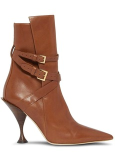 Burberry point-toe ankle boots