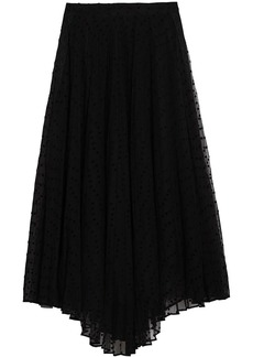 Burberry Polka-dot Flock Tulle Skirt