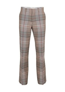 Burberry Prince of Wales check suit pants
