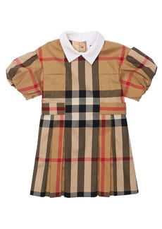 Burberry Printed Cotton Dress