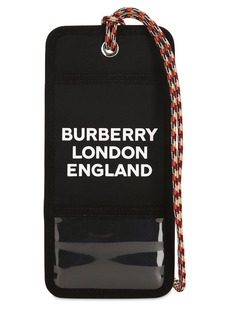 Burberry Printed Nylon Card Case