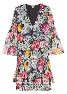 Burberry Printed Silk Chiffon Dress