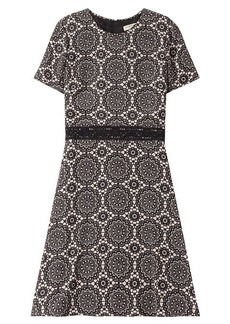 Burberry Printed Silk Dress