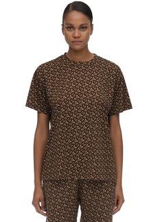 Burberry Printed Techno T-shirt