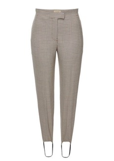 Burberry Printed Wool Pants