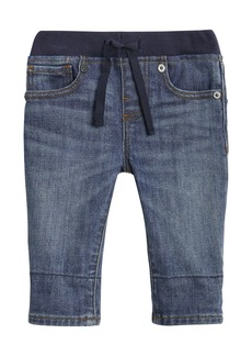 Burberry Pull-On Drawstring Jeans  Size 6M-2Y