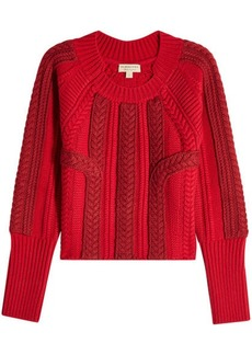 Burberry Pullover with Wool and Cashmere