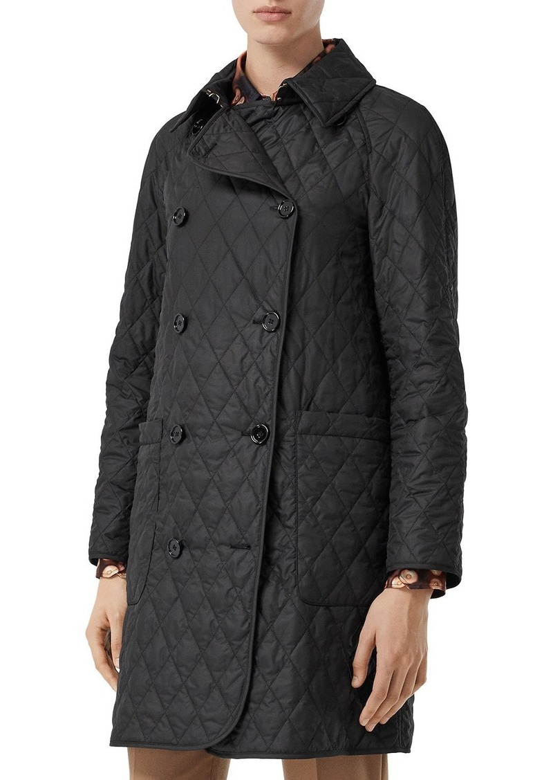 Burberry Tything Quilted Trench Coat
