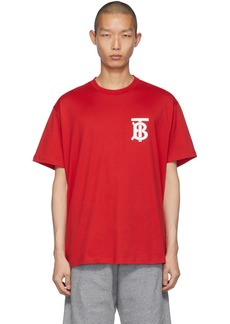 Burberry Red Emerson T-Shirt