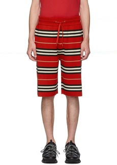 Burberry Red Kenton Casual Shorts