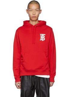 Burberry Red Monogram Landon Hoodie