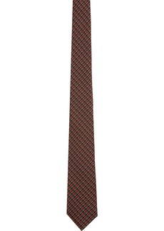 Burberry Red Silk Manston Tie
