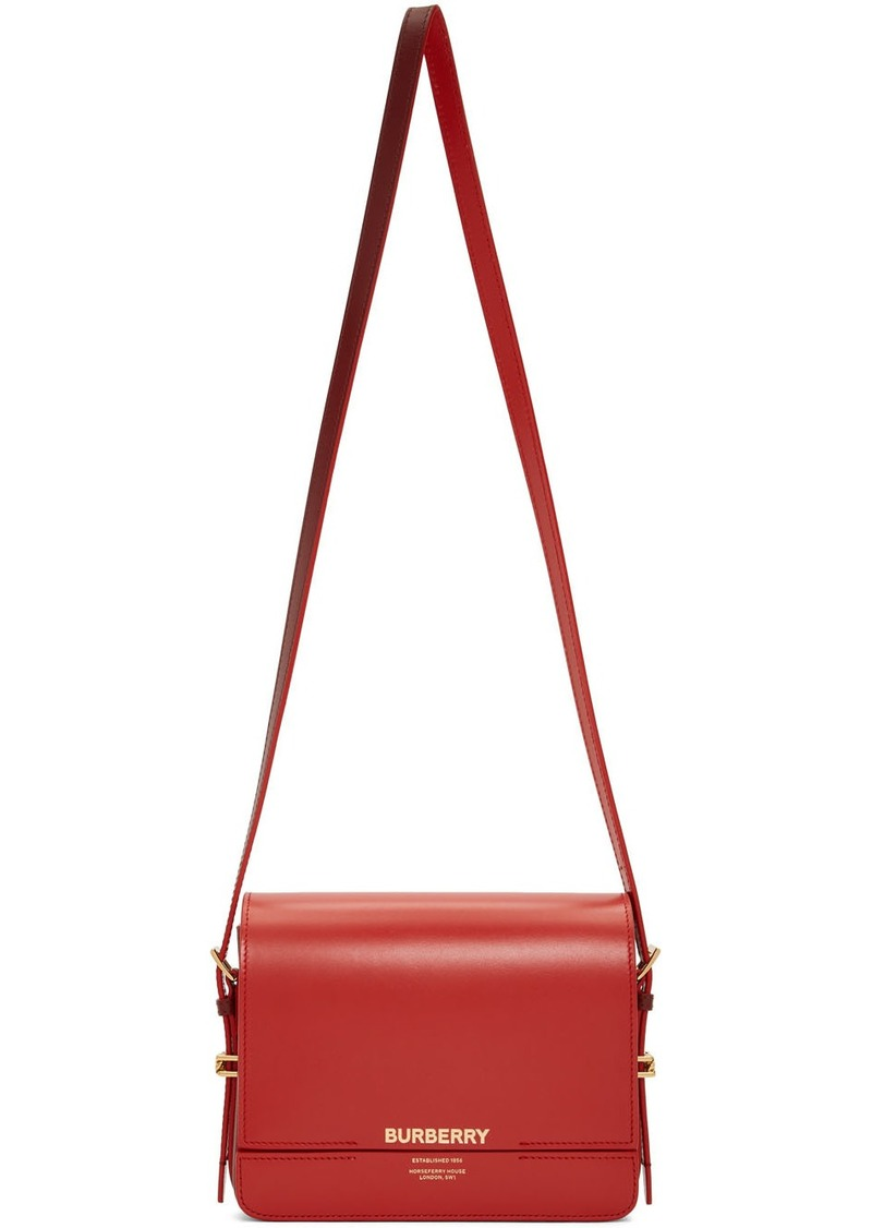 Burberry Red Small Grace Bag