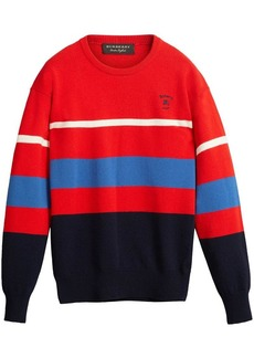 Burberry reissued 1980s striped jumper