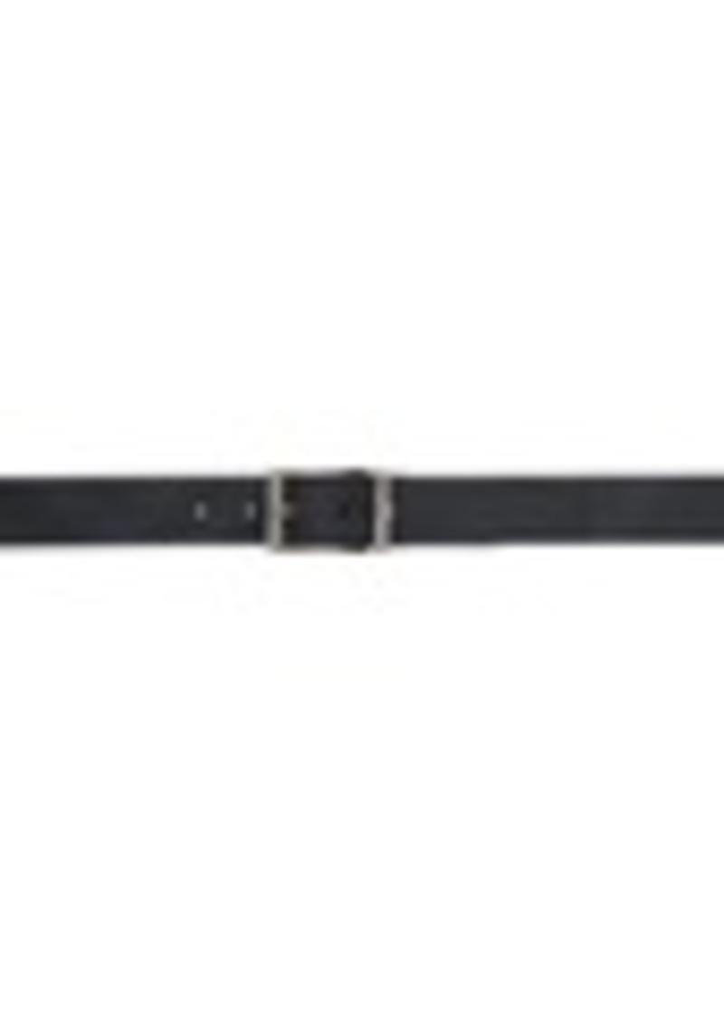 Burberry Reversible Black & Blue London Check Belt