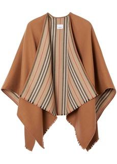 Burberry Reversible Heritage Wool Scarf