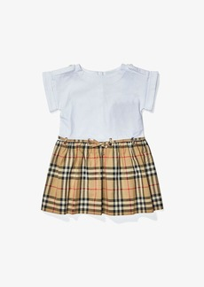 Burberry Rhonda Check Dress (Infant/Toddler/Little Kids/Big Kids)