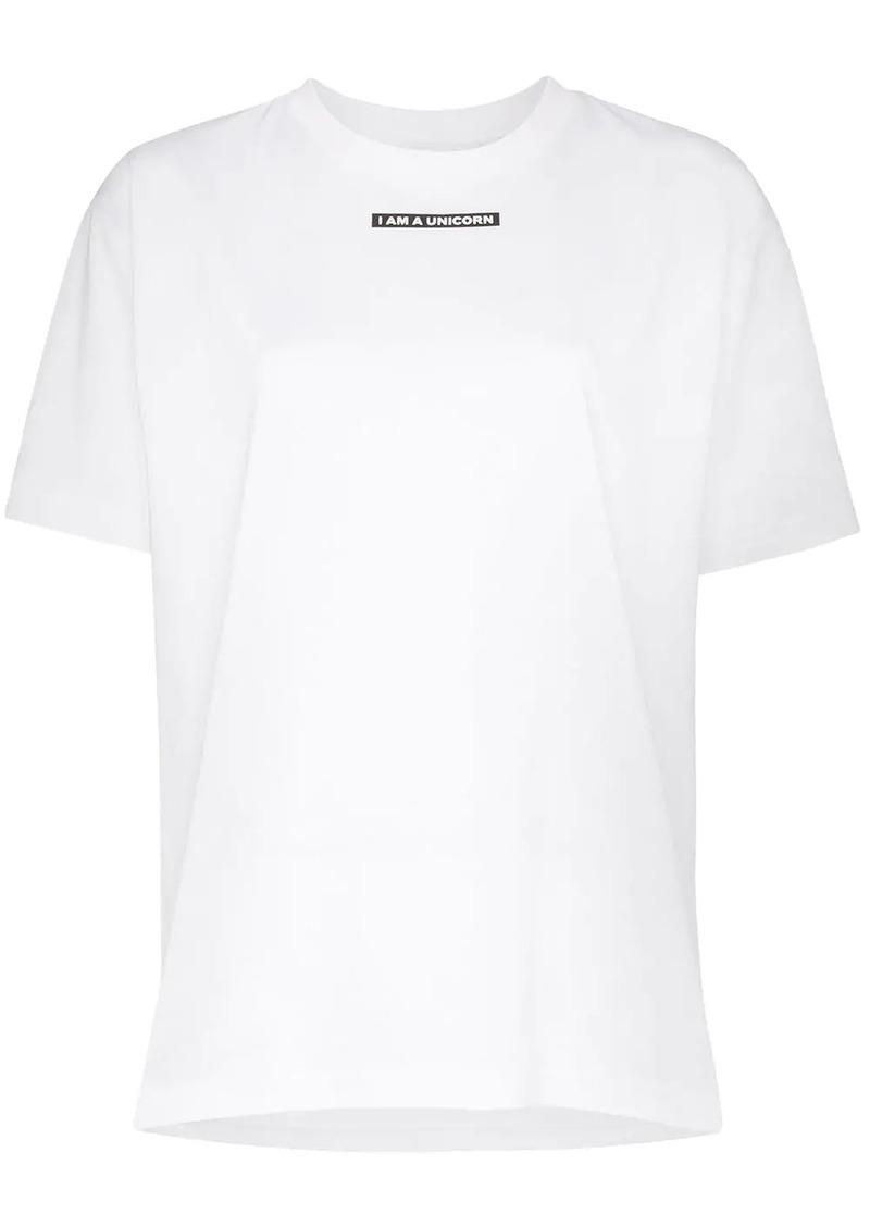 Burberry Ronan slogan print T-shirt