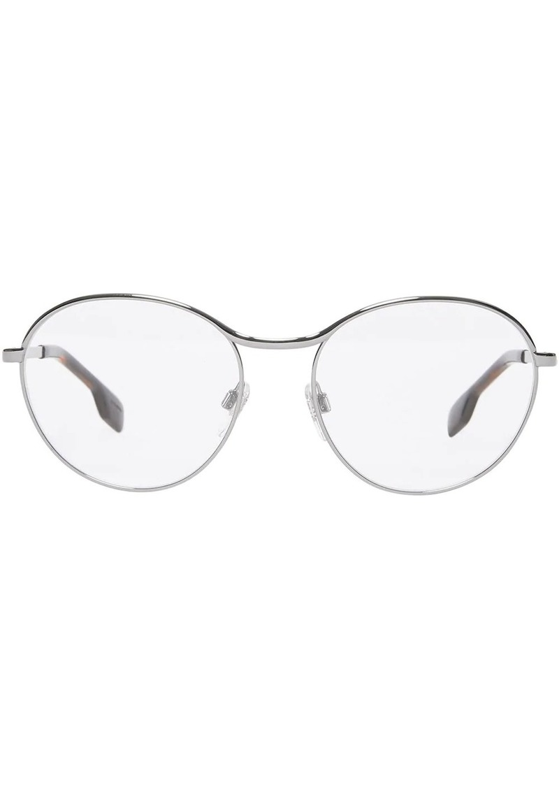 Burberry round framed glasses