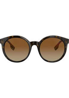 Burberry round shape sunglasses
