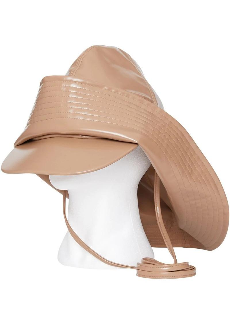 Burberry Rubberised Rain Hat