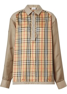 Burberry Seam Detail Vintage Check Shirt