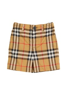 Burberry Sean Check Twill Shorts