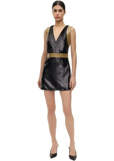 Burberry Sequined Mini Dress
