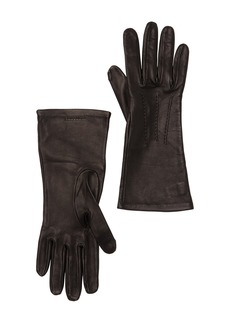 Burberry Short Leather Gloves