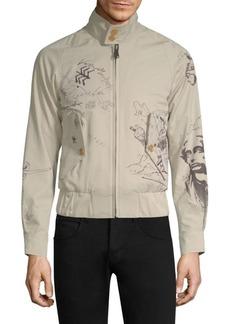 Burberry Shrunken Harrington Jacket