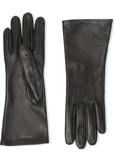 Burberry silk-lined gloves