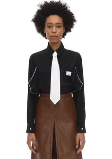 Burberry Silk Satin Shirt
