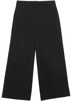 Burberry Silk Wool Tailored Culottes