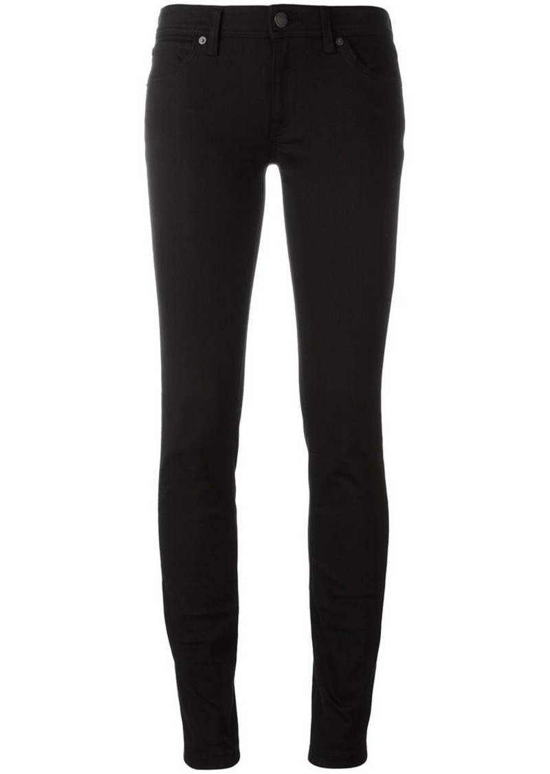 a6759efe6c090 Burberry Skinny Fit Low-Rise Deep Black Jeans