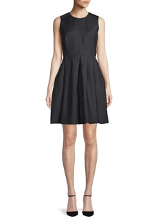Burberry Sleeveless A-Line Dress