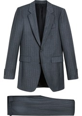 Burberry Slim Fit Pinstripe Wool Cashmere Suit