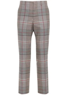 Burberry Slim Fit Wool Tailored Pants