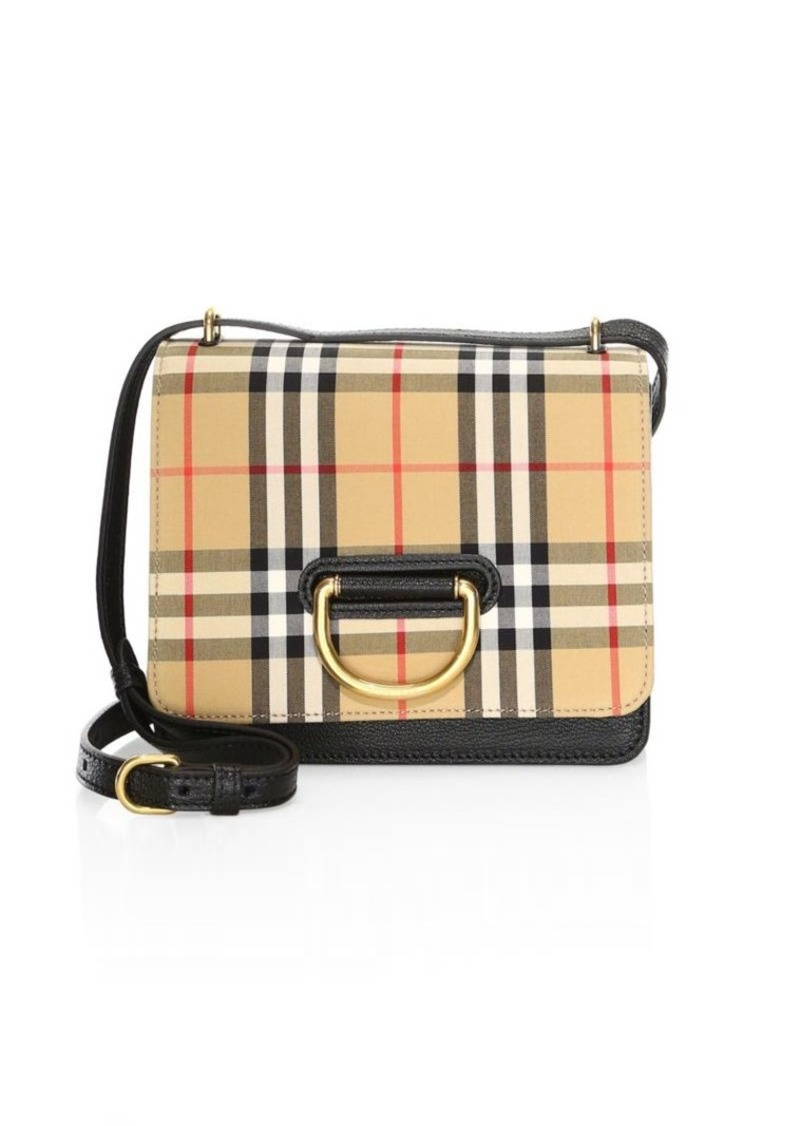 Burberry Small D-Ring Leather Crossbody Bag  77302a3518f03