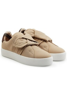 Burberry Sneakers with Knotted Front