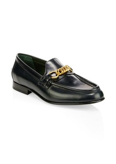 Burberry Solway Leather Loafers