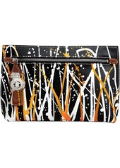 Burberry Splash Trench Leather Pouch