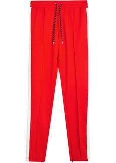 Burberry Sport Stripe Cotton Blend Drawcord Trousers